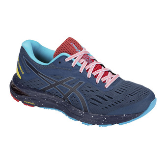 Asics GEL-CUMULUS 20 LE - Running Shoes - Women's - grand shark/peacoat