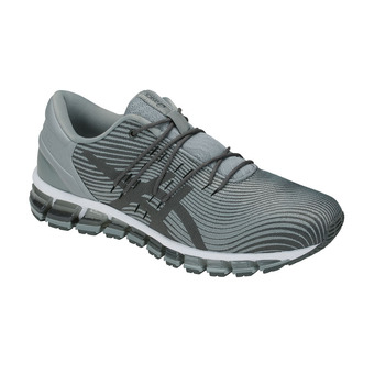 Asics GEL-QUANTUM 360 4 - Running Shoes - Men's - stone grey/dark grey