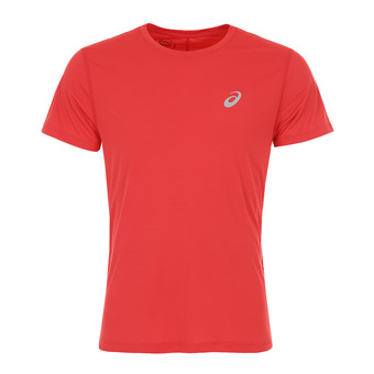 Asics SILVER - Camiseta hombre classic red