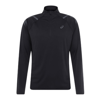 Maillot 1/2 zip ML homme ICON performance black