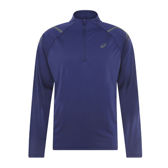 Asics ICON - Camiseta hombre indigo blue/dark grey