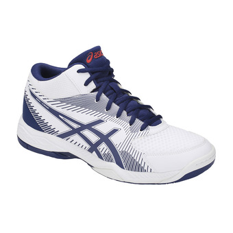 Asics GEL-TASK MT - Chaussures volley Homme white/blue print