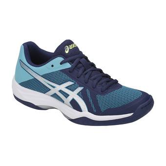 Zapatillas de voleibol mujer GEL-TACTIC indigo blue/silver