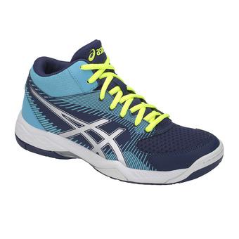 Zapatillas de voleibol mujer GEL-TASK MT indigo blue/silver