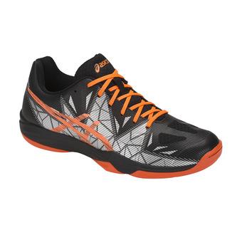 Asics GEL-FASTBALL 3 - Zapatillas balonmano hombre black/shocking orange