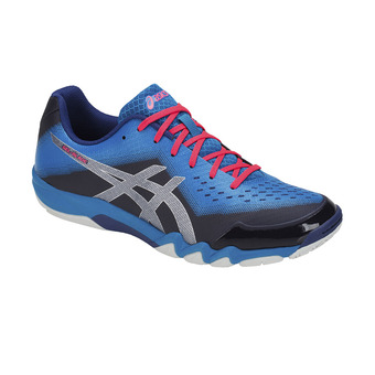 Asics GEL-BLADE 6 - Chaussures badminton Homme blue print/race blue