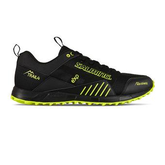 Salming TRAIL T4 - Trail Shoes - Men's - black/yellow