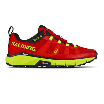 Salming TRAIL T5 - Trail Shoes - Women's - red/yellow