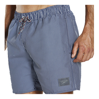 Speedo GINGHAM CHECK LEISURE - Bañador hombre navy/white