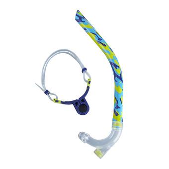 Speedo CENTER SNORKEL - Tuba blue/green