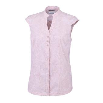 Columbia SATURDAY TRAIL - Camicia Donna mineral pink print