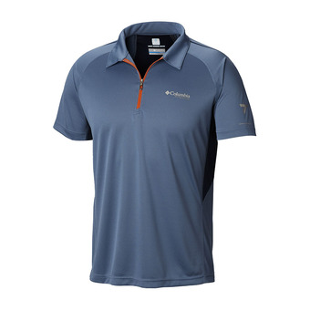 Columbia TITAN TRAIL - Polo - Men's - mountain/collegiate navy