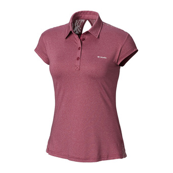 Polo mujer PEAK TO POINT™ wine berry