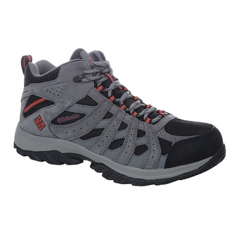 Columbia CANYON POINT WATERPROOF - Trail Shoes - Men's - black/gypsy