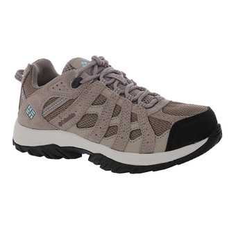 Columbia CANYON POINT WATERPROOF - Chaussures randonnée Femme pebble/sky blue