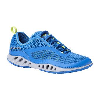 Columbia DRAINMAKER 3D - Scarpette acquatiche Uomo blue magic/voltage