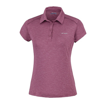 Columbia FIRWOOD CAMP - Polo mujer antique mauve heather