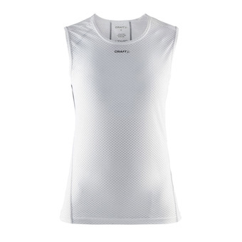 Camiseta sin mangas mujer SUPERLIGHT white