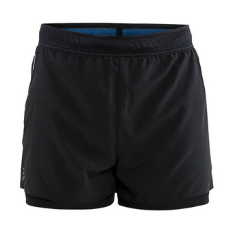 Craft NANOWEIGHT - Short 2 en 1 hombre black