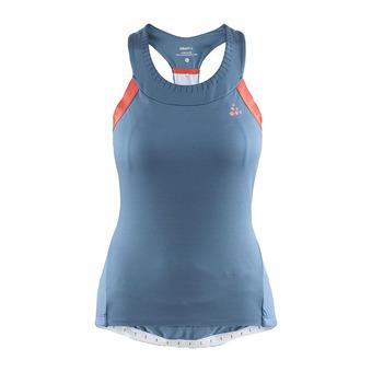 Craft HALE GLOW - Camiseta de tirantes mujer shore/boost