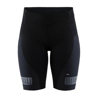 Craft HALE GLOW - Pantaloncini Donna nero