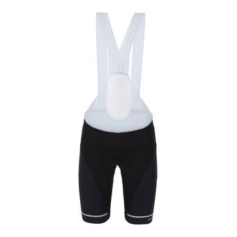 Craft HALE - Pantaloncini con bretelle Uomo nero/bianco