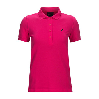 Peak Performance GOLF - Polo mujer fusion pink
