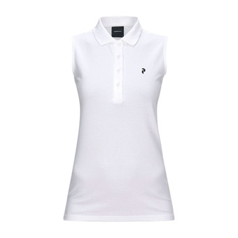 Peak Performance CLAPIQ - Polo mujer white