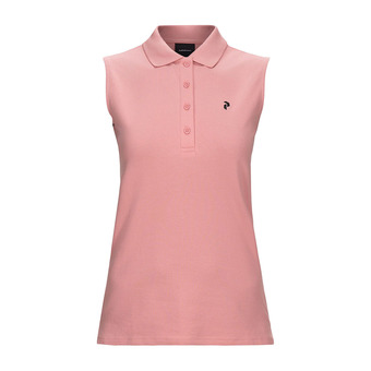 Peak Performance CLAPIQ - Polo mujer warm blush