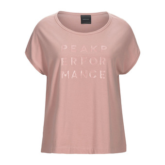 Peak Performance GRO CAP - Camiseta mujer dusty roses