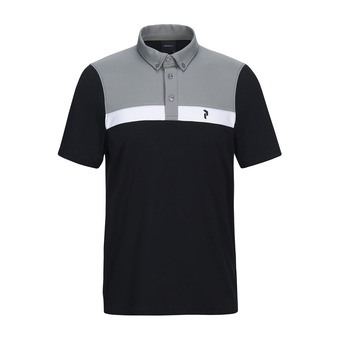 shirt flat collar -PANMOBDPO Homme Black