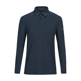 Peak Performance VERSEC - Polo Uomo blue steel