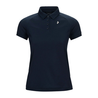 Peak Performance VERSEC - Polo Femme blue shadow