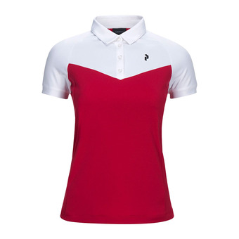 Peak Performance VERSEC - Polo Femme true pink