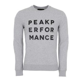 Sweatshirt-GROUND C Homme Med Grey Mel