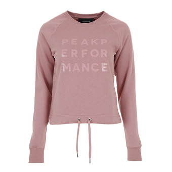 Peak Performance GROUND - Sudadera mujer dusty roses