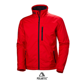 CREW JACKET Homme ALERT RED