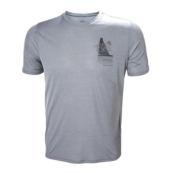 Helly Hansen CIRCUMNAVIGATION - T-shirt Uomo grey melange
