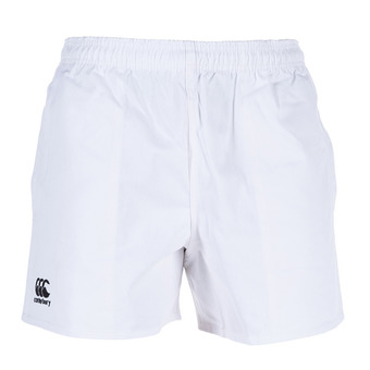 Canterbury PROFESSIONAL COTTON - Short hombre white