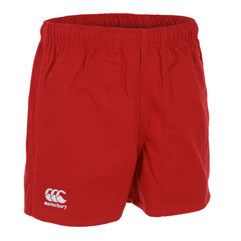 PROFESSIONAL COTTON SHORT Homme FLAG RED