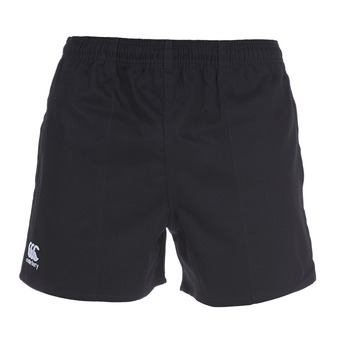 Short hombre PROFESSIONAL COTTON black