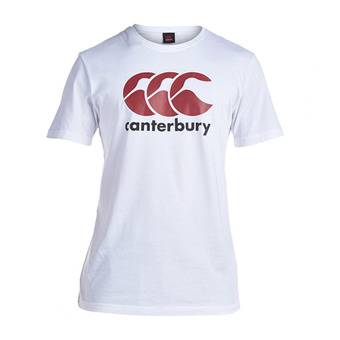 Canterbury LOGO - Tee-shirt Homme white/red/black