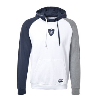 Canterbury MACETOWN - Sudadera hombre white