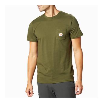 Mountain Hardwear PEAKS'N PINTS - Tee-shirt Homme dark army