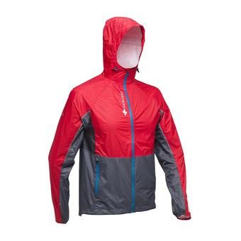 Veste à capuche homme TOP EXTREME MP+ rouge/gris