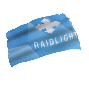 RaidLight PASS MOUNTAIN - Neck Warmer - blue