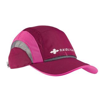 R-LIGHT CAP W Femme GARNET/PINK