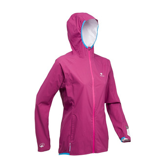 Raidlight ACTIVE MP+ - Chaqueta mujer granate