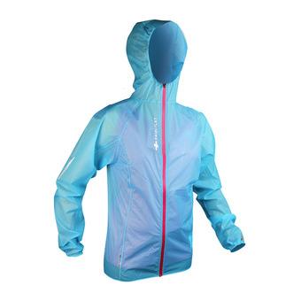 Veste à capuche femme HYPERLIGHT MP+ bleu électrique