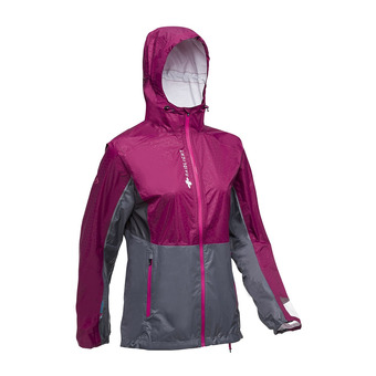 TOP EXTREME MP + JACKET W Femme GARNET/GREY